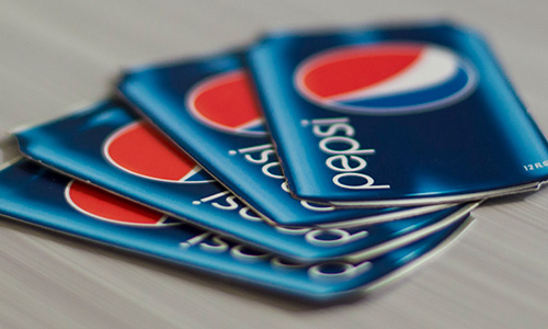 Digital Color Printing - Pepsi Business Cards