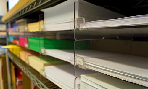 Document Services Slip Sheets