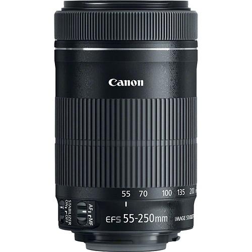Canon 55-250mm lens
