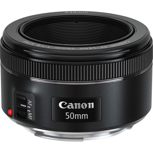 Canon EF 50mm prime lens