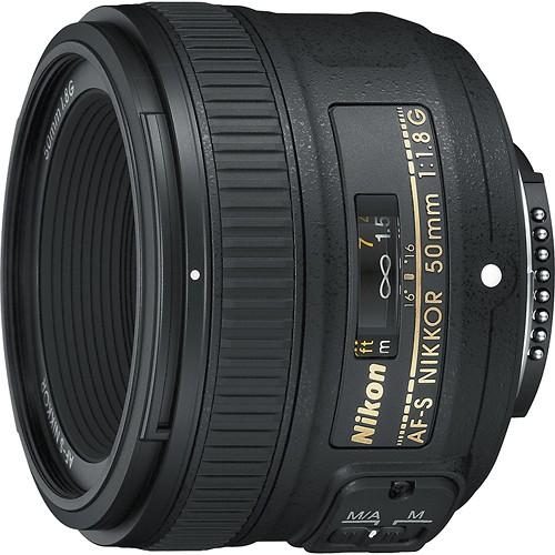 Nikkor 50mm prime lens