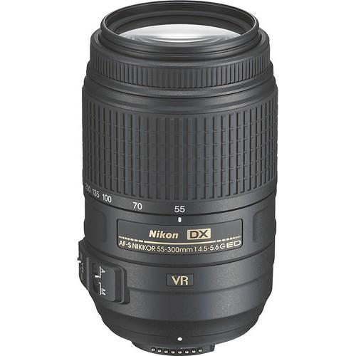 nikkor 55-300mm lens
