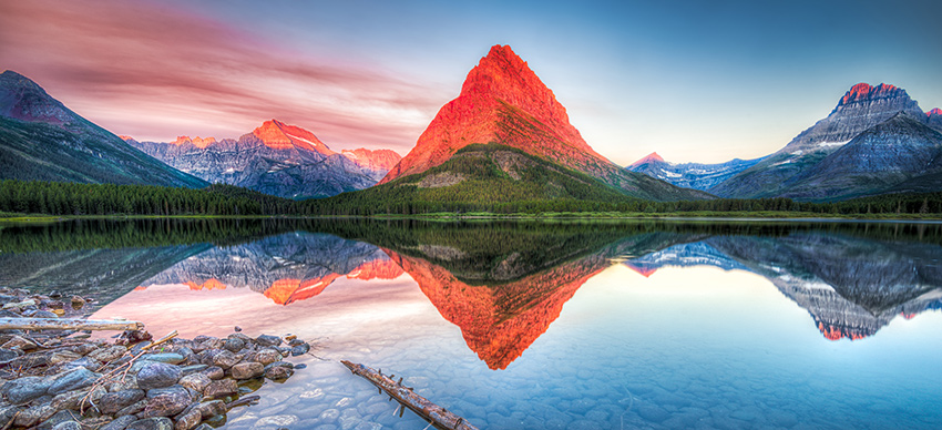 swiftcurrent lake in Montana