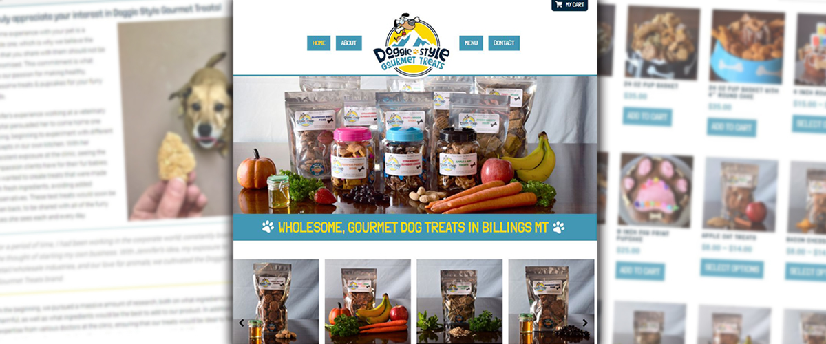 Web Services - Doggie Treats Website