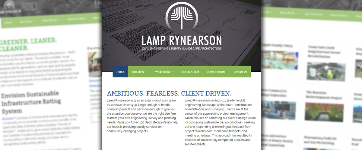 Web Services - Lamp Rynearson Website